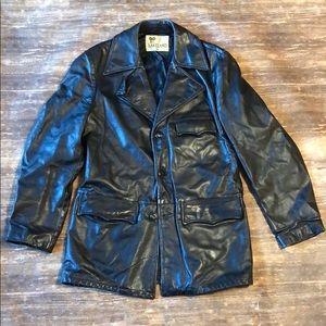 Vintage 70s leather jacket